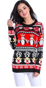 V28 Womens Christmas Sweater