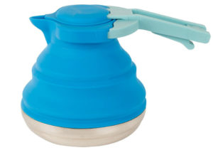 Camping Tea Pot Blue