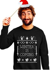 GoT Winter is Coming Ugly Christmas Sweater