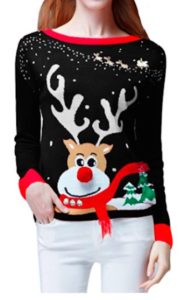 Rudolph Red nose reindeer sweater