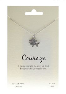 animal inspirations pendant with quote