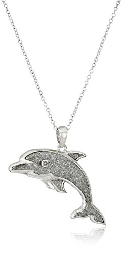 Silver Dolphin Pendant Necklace