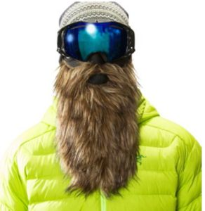 Funny Bearded Ski Mask
