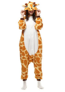 Animal Fancy Dress Giraffe Costume