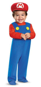 Baby Infant Super Mario Costume