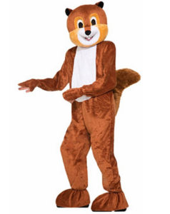 Funny Squirrel Outfit Fancy Dress Animal Costume