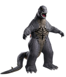 Inflatable Godzilla Costume Fancy Dress Outfit