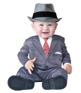 Baby Boy Businessman Costume