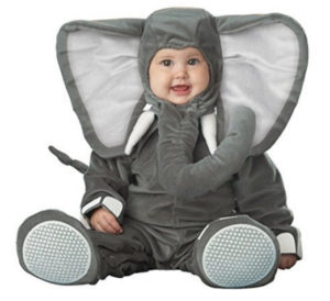 Baby Boy Elephant Costume