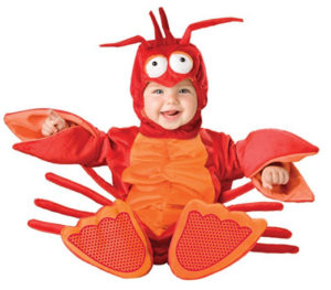 Baby Boy Lobster Costume