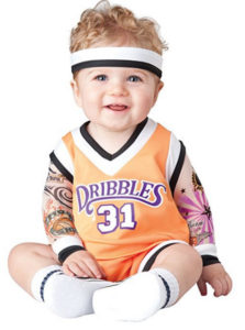 Baby Boy Basketball Player Costume