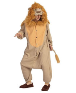 Lion Costume Animal Fancy Dress
