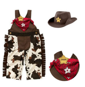 Baby Boy Cowboy Costume Outfit