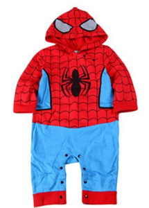 Baby Boy Spiderman Costume