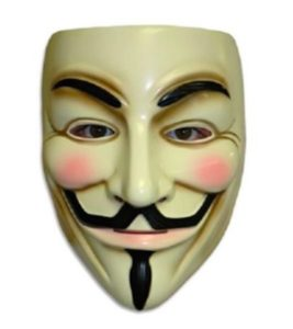 Funny Anonymous Guy Fawkes Mask