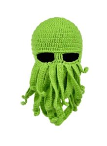 Funny Knitted Alien Cthulhu Mask Hat