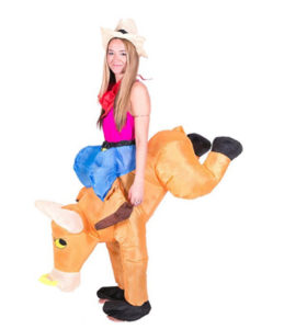 Inflatable Ride A Bull Animal Costume