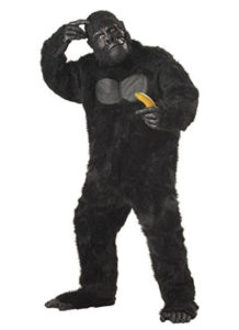 Funny Animal Fancy Dress Gorilla Costume