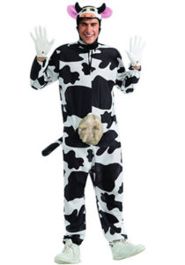 Animal Costume Fancy Dress Cow Outfit
