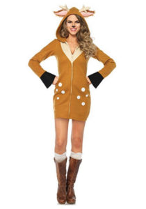 Fawn Costume Animal Fancy Dress