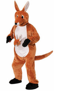 Kangaroo Animal Costume Fancy Dress Outfit