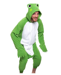 Frog Animal Costume Fancy Dress Onsie
