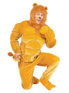Macho Lion Animal Costume Fancy Dress Outfit