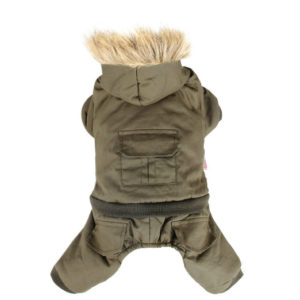 Dog Winter Coat Hoodie