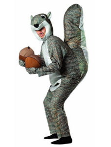 Squirrel Costume Animal Fancy Dress Outfit
