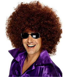 Disco Afro Dress Up Wig