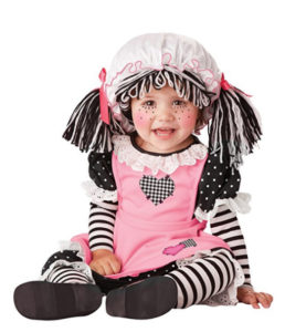 Women Doll Baby Girl Costume