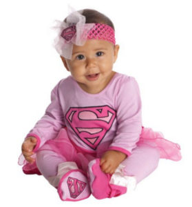 Supergirl Baby Girl Costume