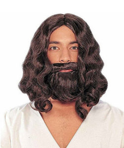 Jesus Dress Up Wig and Beard
