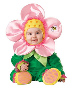 Flower Baby Girl Costume