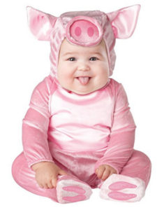 Lil' Piggy Baby Girl Costume