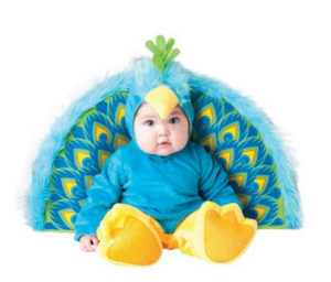Peacock Baby Girl Costume