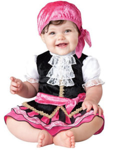 Pirate Baby Girl Costume