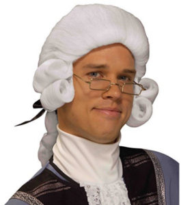 George Washington Dress Up Wig