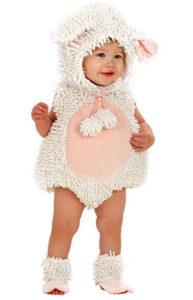 Sheep Lamb Baby Girl Costume