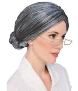 Old Lady Dress Up Wig