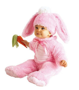 Pink Rabbit Baby Girl Costume