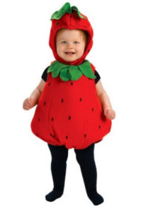 Strawberry Baby Girl Costume