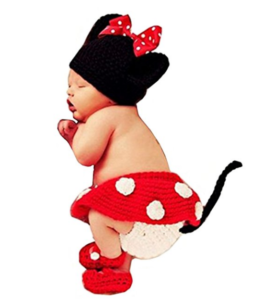 Micky Mouse Baby Girl Costume