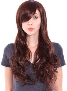 Long Curly Hair Dress Up Wig