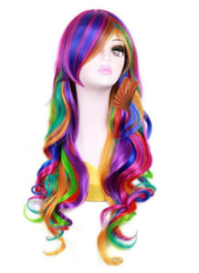Rainbow Dress Up Wig