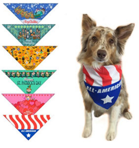 Cute Dog Bandanas - 6 Pack