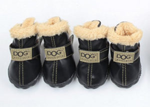 Winter Warm Dog Shoes Paw Protectors