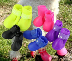 Waterproof Puppy Rain Shoes