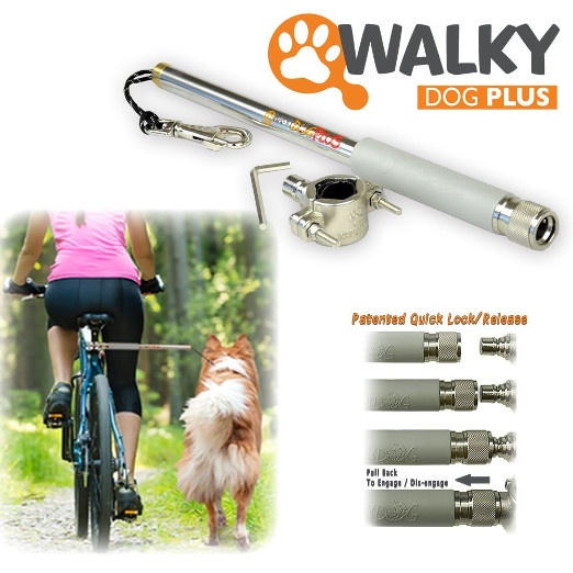 hands free dog bicycle attachment