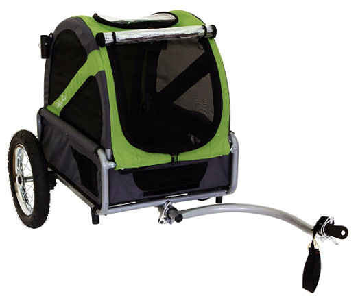 dog bike trailer attachment